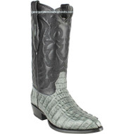 Men's Los Altos Caiman Tail Boots J Toe Handcrafted 990109