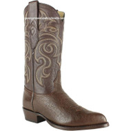 Men's Los Altos Genuine Smooth Ostrich Boots J Toe Handmade 999707
