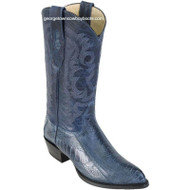 Men's Los Altos Genuine Ostrich Leg J Toe Boots Handcrafted 990514