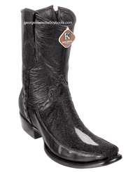 Men's King Exotic Stingray Boots With Deer Dubai Toe Handcrafted 479BF1205