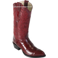 Men's Los Altos Genuine Eel J Toe Boots Handcrafted 990806