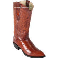 Men's Los Altos Genuine Eel J Toe Boots Handcrafted 990803