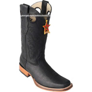 Men's Los Altos Square Toe Leather Boots Handmade 8122705