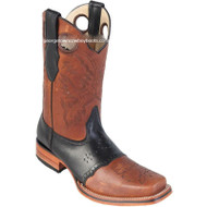 Men's Los Altos Square Toe Boots With Saddle Vamp Handmade 8142751