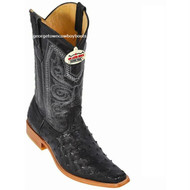 Men's Los Altos Ostrich Boots Square Toe Handcrafted 710305