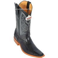 Men's Los Altos Lizard Boots Handcrafted Square Toe 710705