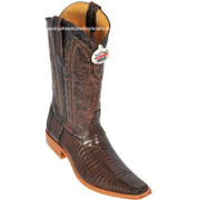 Men's Los Altos Lizard Boots Handcrafted Square Toe 710707