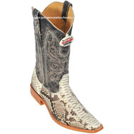 Men's Los Altos Python Square Toe Boots Handcrafted 715749