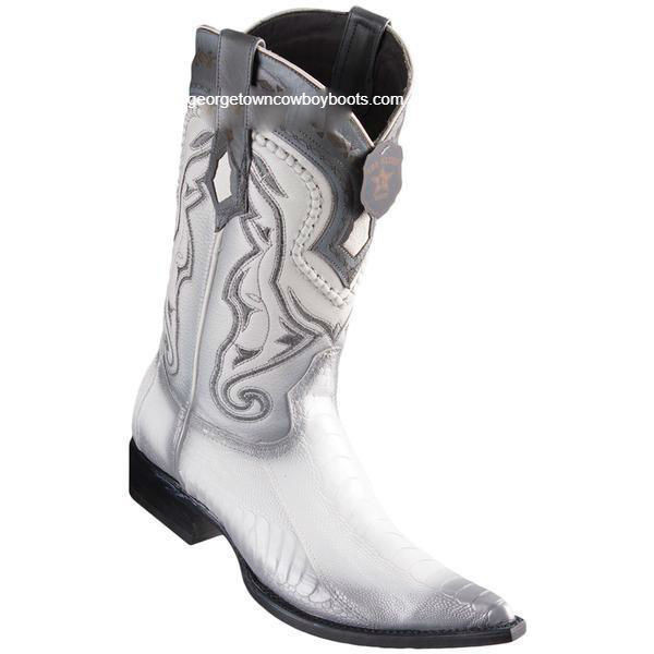 d2311d2d083 Men's Los Altos Ostrich Leg Boots 3X Toe Handcrafted 9530528