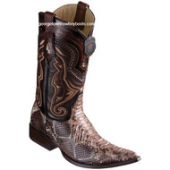 Men's Los Altos Python Boots 3X Toe Handcrafted 9535785