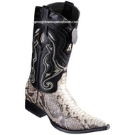 Men's Los Altos Python Boots 3X Toe Handcrafted 9535749