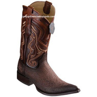 Men's Los Altos Sharkskin Boots 3X Toe Handcrafted 9530957