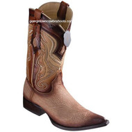 Men's Los Altos Sharkskin Boots 3X Toe Handcrafted 9530915