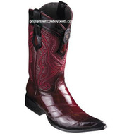 Men's Los Altos Eel Boots 3X Toe Handcrafted 9530843
