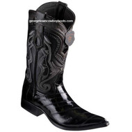 Men's Los Altos Eel Boots 3X Toe Handcrafted 9530805