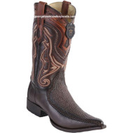 Men's Los Altos Sharkskin Boots With Deer 3x Toe Handcrafted 9520916