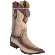 Men's Los Altos Sharkskin Boots With Deer 3x Toe Handcrafted 9520915