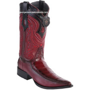 Men's Los Altos Eel Boots With Deer 3x Toe Handcrafted 9520843