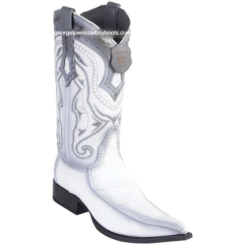 Men's Los Altos Eel Boots With Deer 3x Toe Handcrafted 9520828