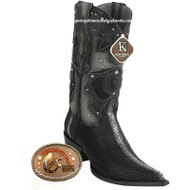Men's King Exotic Stingray Boots 3x Toe Handcrafted 95v1105
