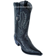Men's Los Altos Boots Mens Genuine Ostrich Leg With Cowboy Heel 95v0505