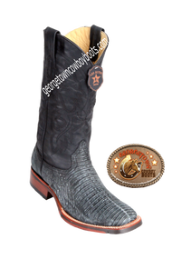 Men's Los Altos Teju Lizard Boots With TPU And Leather Outsole 8260774