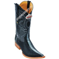 Men's Los Altos Shaved Stingray 3x Toe Boots Handmade 956005