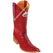 Men's Los Altos Genuine Eel 3x Toe Boots Handcrafted 950812
