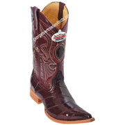 Men's Los Altos Genuine Eel 3x Toe Boots Handcrafted 950806