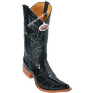 Men's Los Altos Genuine Eel 3x Toe Boots Handcrafted 950805