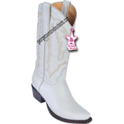 Women's Los Altos Snip Toe Deer Leather Boots Handcrafted 348304
