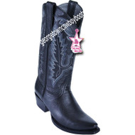 Women's Los Altos Snip Toe Deer Leather Boots Handcrafted 348305
