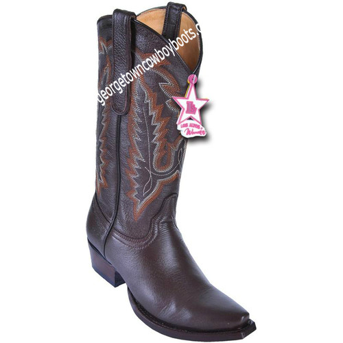 Women's Los Altos Snip Toe Deer Leather Boots Handcrafted 348307