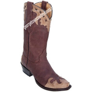 Women's Los Altos Snip Toe Desert Leather Boots Handcrafted 34P5094