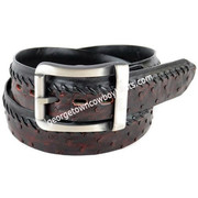 Los Altos Full Quill Ostrich Belt With Removable Buckle Handmade c230318