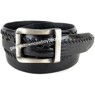 Los Altos Teju Lizard Belt With Removable Buckle/Leather Lining c230705