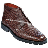 Men's Los Altos Caiman Belly Boots Square Toe Handcrafted ZA2068207