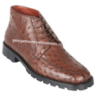 Men's Los Altos Ostrich Boots Square Toe Handcrafted ZA2060307