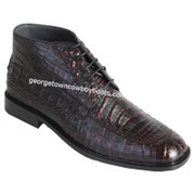 Men's Los Altos Caiman Belly Boots Square Toe Handcrafted ZA3068218