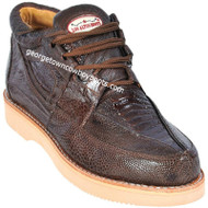 Men's Los Altos Ostrich Leg Casual Shoes Handcrafted ZA050507