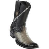 Men's Wild West Caiman Belly Boots Dubai Toe Handcrafted 279B8238