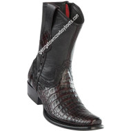 Men's Wild West Caiman Belly Boots Dubai Toe Handcrafted 279B8218