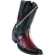 Men's Wild West Caiman Belly Boots Dubai Toe Handcrafted 279B8243