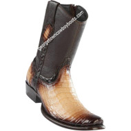 Men's Wild West Caiman Belly Boots Dubai Toe Handcrafted 279B8215