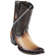 Men's Wild West Ostrich Boots Dubai Toe Handcrafted 279B0315