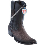 Men's Wild West Sharkskin Boots Dubai Toe Handcrafted 279B9316