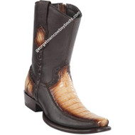 Men's Wild West Caiman Belly With Deer Boots Dubai Toe Handcrafted 279BF8215