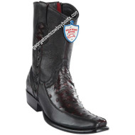 Men's Wild West Ostrich With Deer Boots Dubai Toe Handcrafted 279BF0318