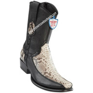 Men's Wild West Python With Deer Boots Dubai Toe Handcrafted 279BF5749