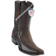Men's Wild West Sharkskin With Deer Boots Dubai Toe Handcrafted 279BF9316